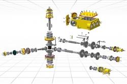 Коробка передач ПБУ 4-ступенчатая
