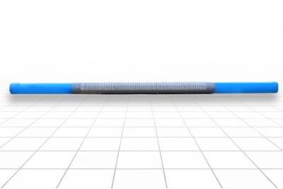 Фильтр сетчатый 125 мм. ПВХ, Рчф 1,5 м L=3,0 м