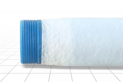 Фильтр с напылением 125 мм. ПВХ, Рчф 2,9 м L=3,0 м
