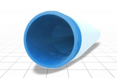 Фильтр с напылением 125 мм. ПВХ