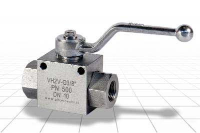 Кран шаровый GE2 3/8' DN10 PN500 (V0840)