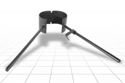 Хомут для труб ПВХ, ПЭ 113 мм