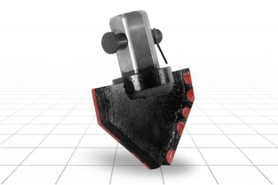 Долото лопастное шнековое II ЛД-198 МС Ш55