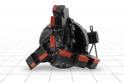 Долото лопастное шнековое III ДРШ-151 МС Ш55