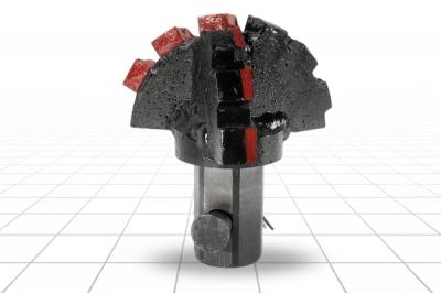 Долото лопастное шнековое III ДРШ-198 МС Ш55