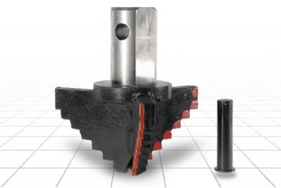 Долото лопастное шнековое III ЛД-320 М Т90 Е