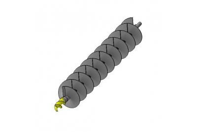 Бур шнековый БШ 300-32х4-1000-120 ШП (S3)