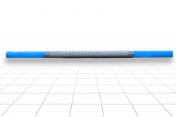 Фильтр сетчатый 113 мм. ПВХ, Рчф 2,0 м L=3,0 м