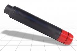 Грунтонос задавливаемый лепестковый ГК 105х500 Л