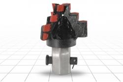 Долото лопастное шнековое III ЛД-151 (Т25) СТ Ш55 В