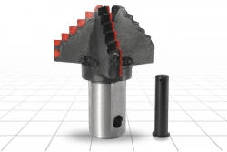 Долото лопастное шнековое III ЛД-270 М Т90 Е