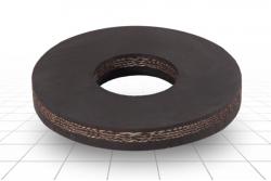 Шайба резиновая наборного поршня 90 мм