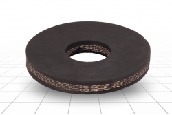 Шайба резиновая наборного поршня 100 мм