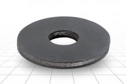 Шайба резиновая наборного поршня 110 мм