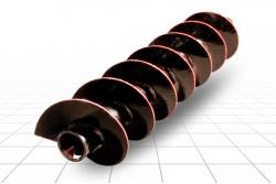 Шнек буровой ШБ 350-114х8-1400-200-Т90 (S8)