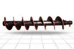 Шнек буровой ШБ 300-114х8-1400