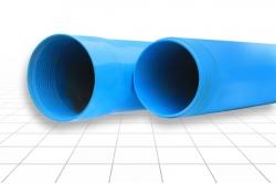 Труба обсадная с резьбой ПВХ 125х5 L=3 м.