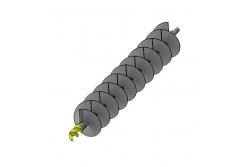 Бур шнековый БШ 200-32х4-1000-120 ШП (S3)