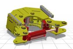 Трубозажим гидравлический для УРБ 2А2 ГТЗ-89-250