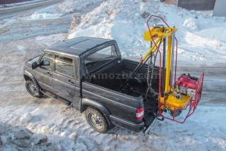 Малогабаритная буровая установка МОЗБТ на шасси УАЗ «Патриот»