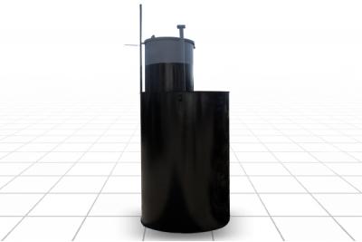 Кессон круглый диаметр 1,1 м., высота 2,15 м. (S5)